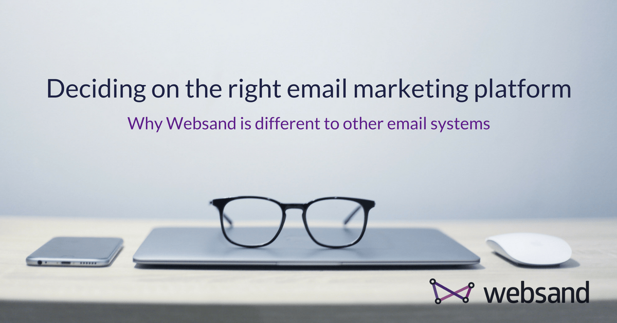 Why should you switch to Websand from Mailchimp
